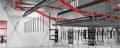 NorMec overhead conveyor