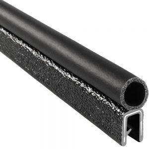 Dual durometer rubber profile